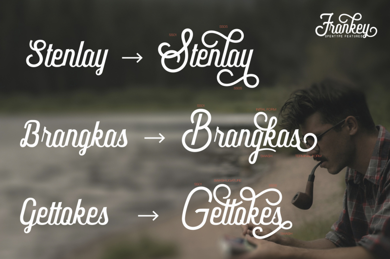 frankey-vintage-font