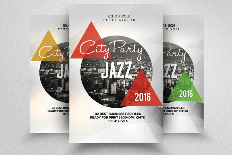 solo-city-party-flyer
