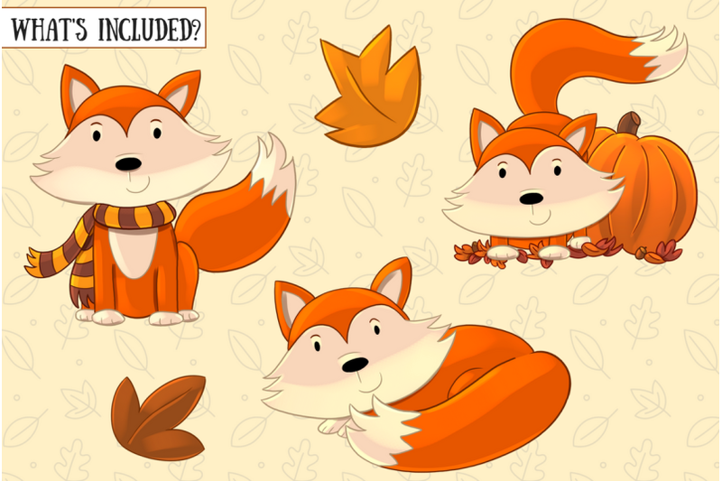 fall-foxes-collection