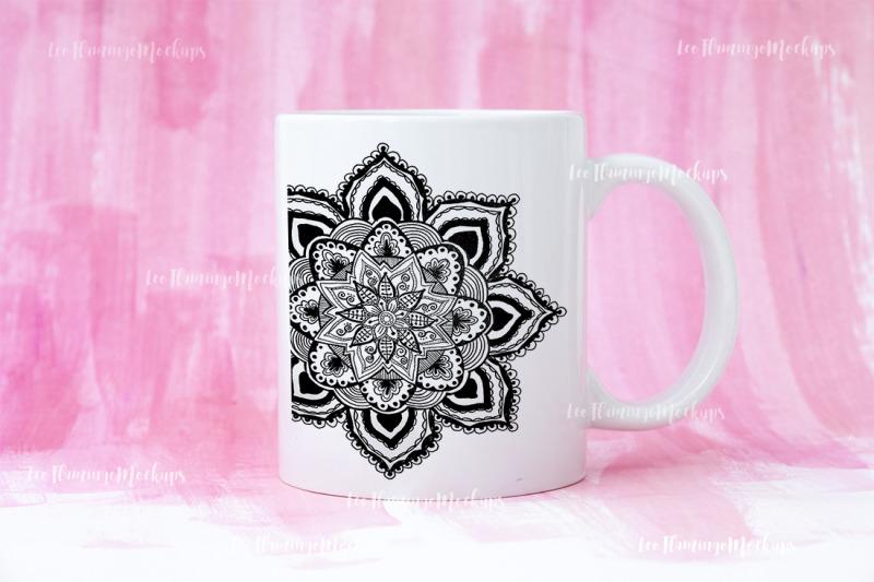 white-coffee-mug-mockup-pink-background-psd-smart-object-cup-mock-up