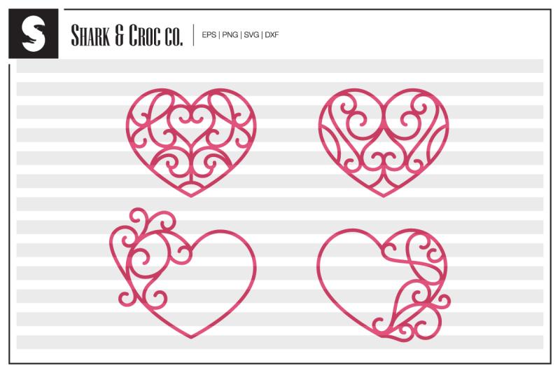 heart-ornaments-cut-files