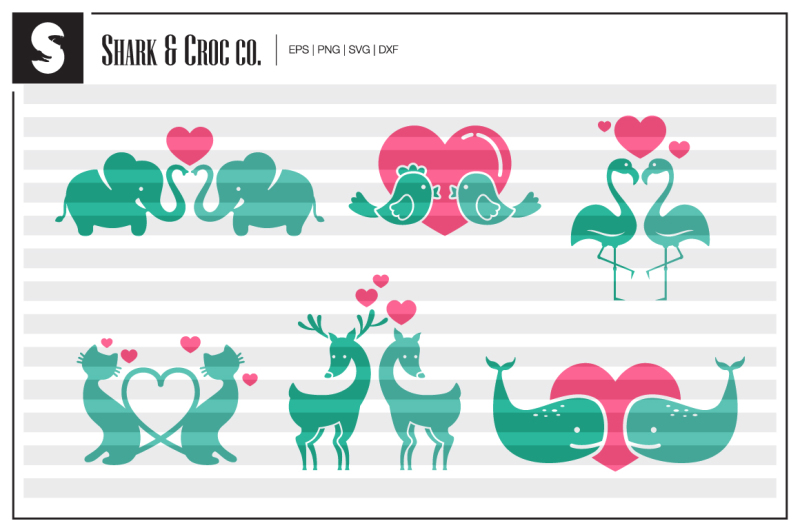 animal-couples-cut-files