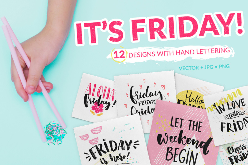 friday-hand-lettering-cards-amp-overlays
