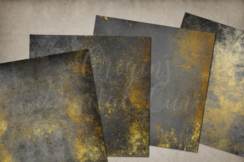 grunge-and-gold-digital-paper