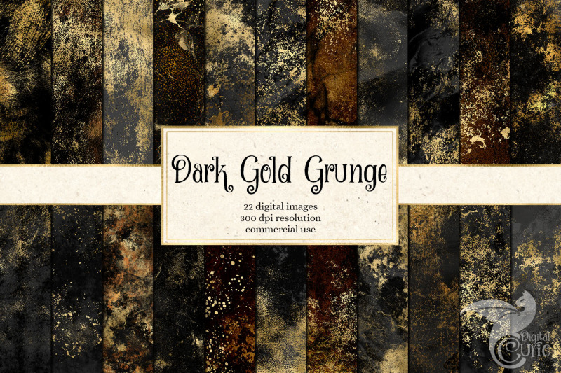 dark-gold-grunge-textures-digital-paper
