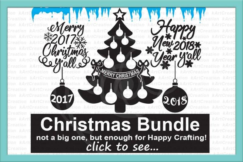 Christmas svg bundle, Christmas svg files, Christmas Tree ...