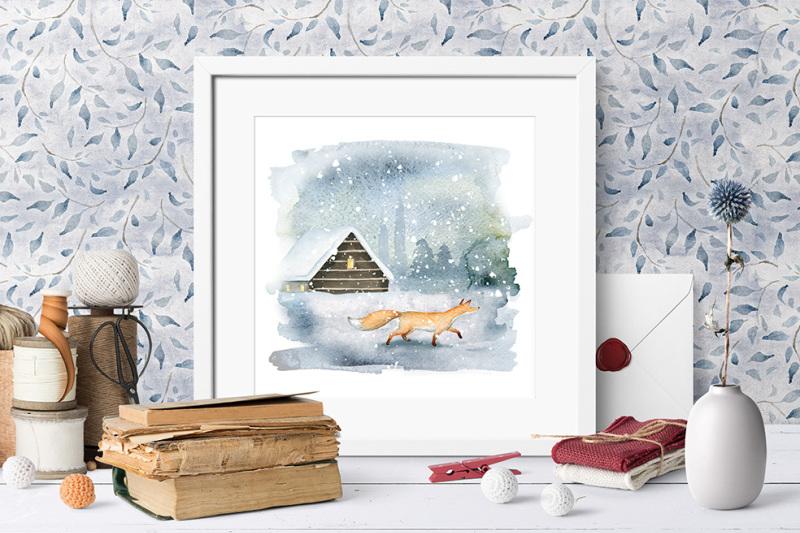 magic-winter-watercolors