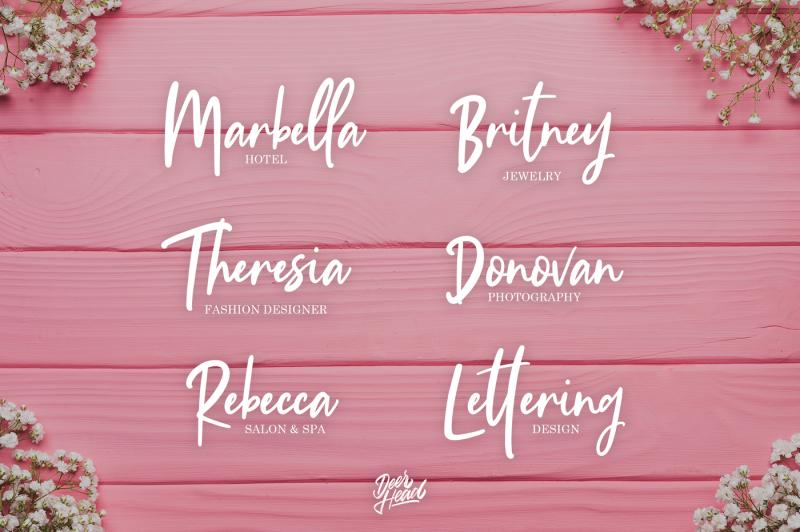 vandella-handstylish-font
