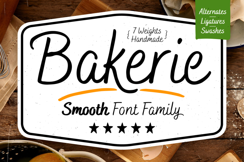 bakerie-smooth-font-family