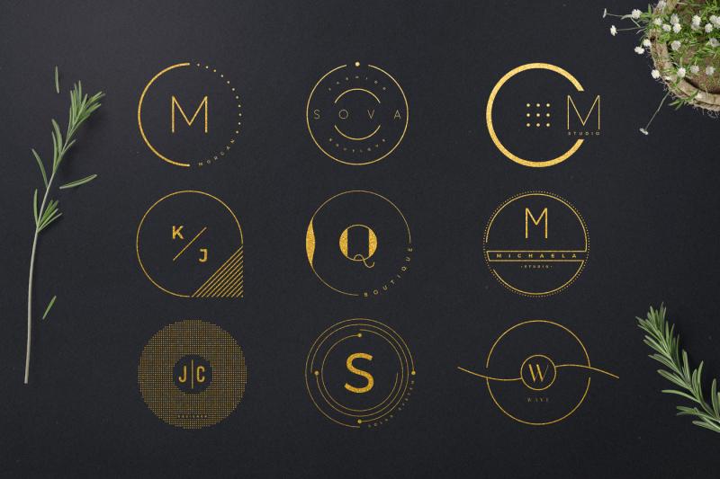 minimalistic-circle-logo