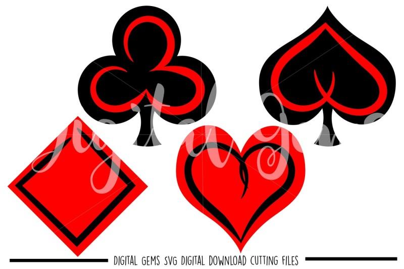 card-symbol-svg-dxf-eps-png-files