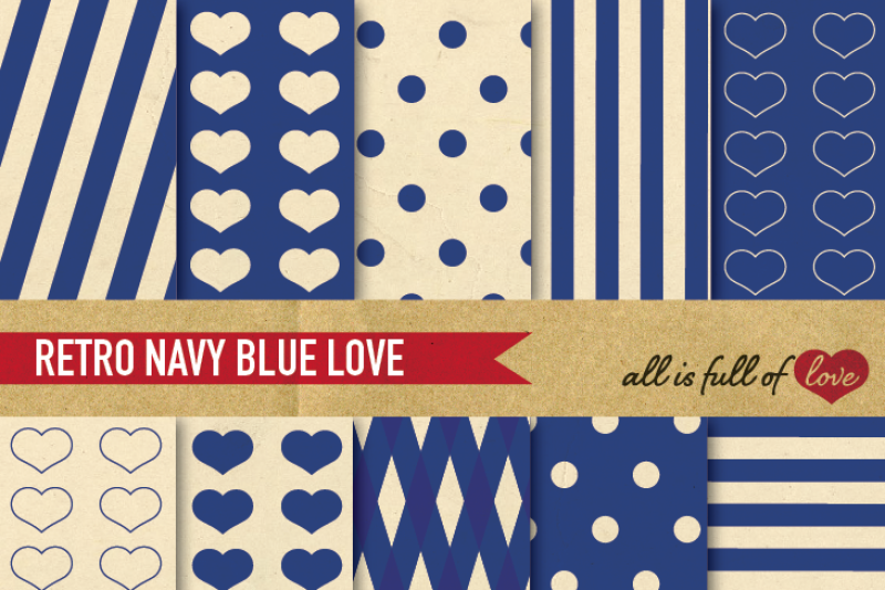 vintage-backgrounds-in-navy-blue-love-collection