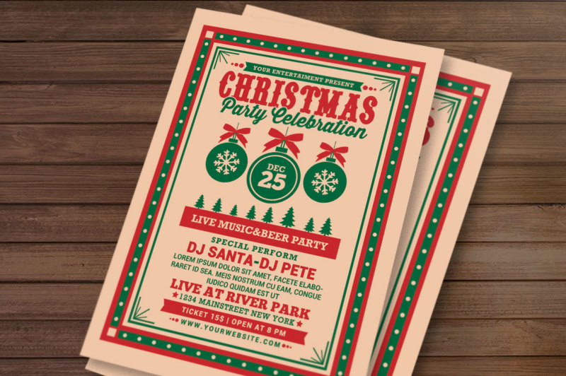 christmas-party-celebration-flyer