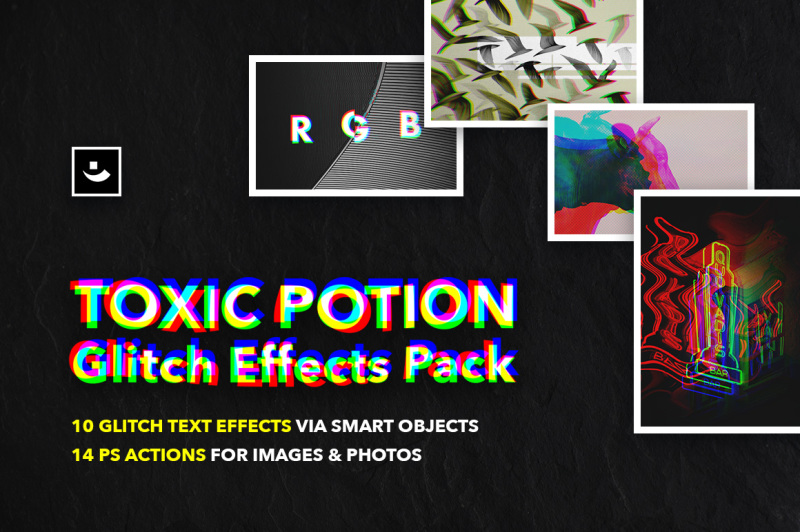 toxic-potion-glitch-effects-pack