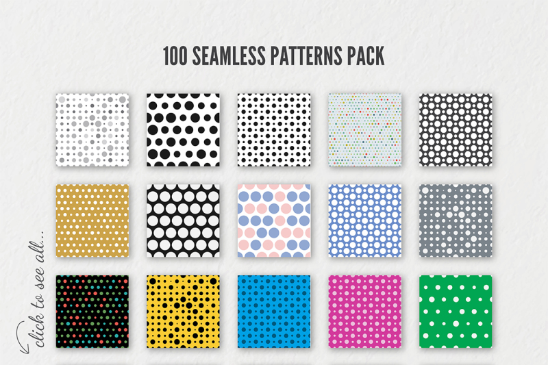 100-seamless-dotted-patten-bundle