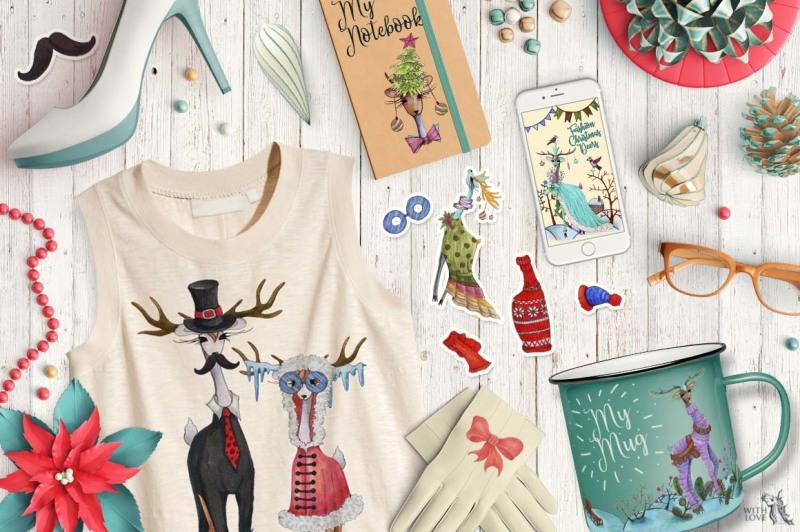 fashion-christmas-deer-creator