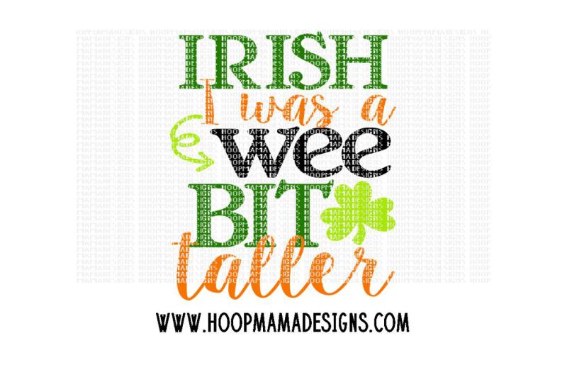 irish-i-was-a-wee-bit-taller