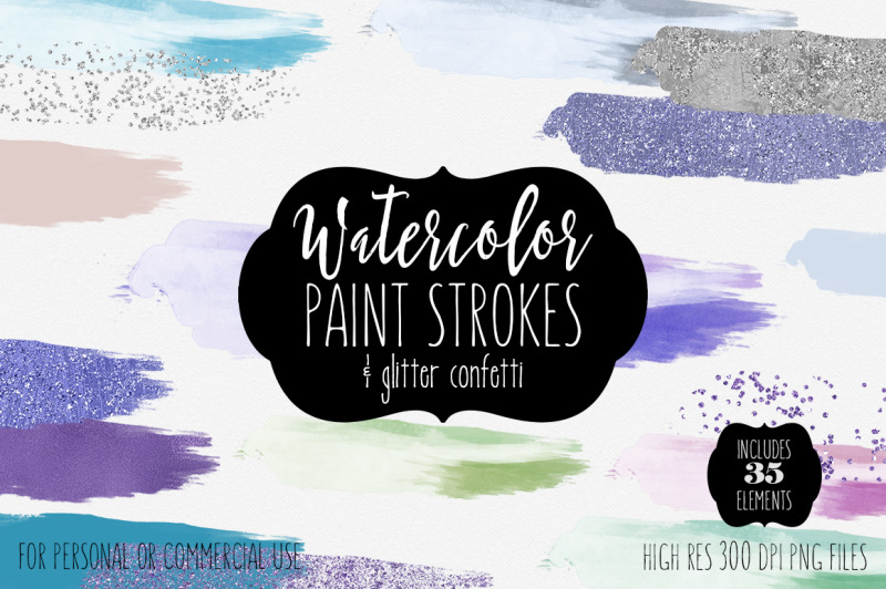 blue-purple-watercolor-brush-strokes