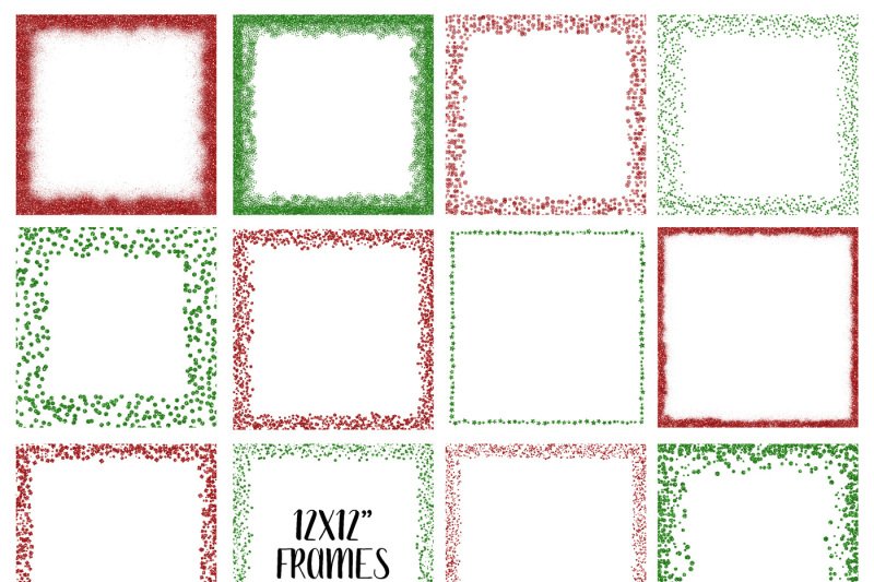 christmas-glitter-frames-and-borders-png-clipart-bundle