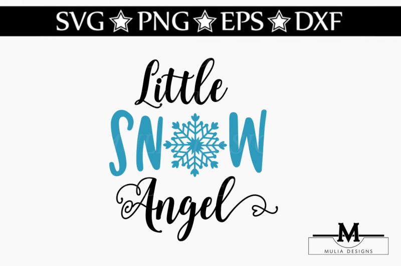 little-snow-angel-svg