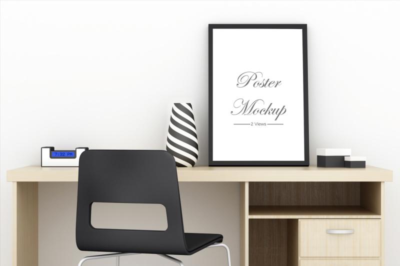 poster-on-desk-mockup