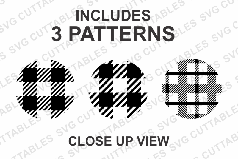Buffalo Plaid Patterns By Svg Cuttables Thehungryjpeg Com