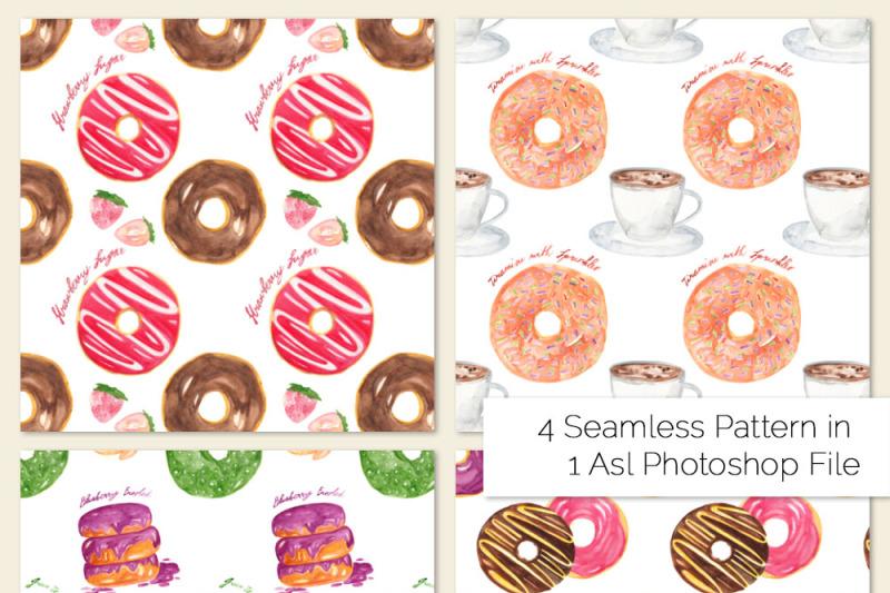doughnuts-watercolor-clipart