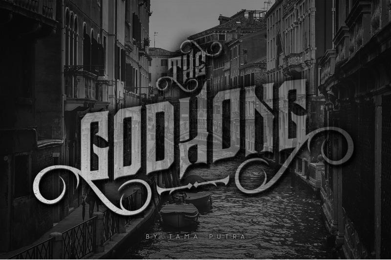 godhong-decorative-serif-typeface