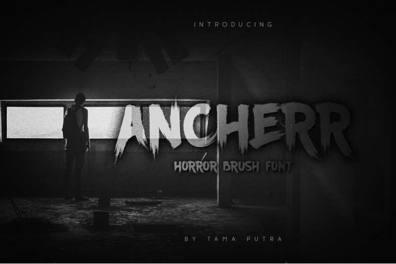 ancherr-horror-brush-typeface