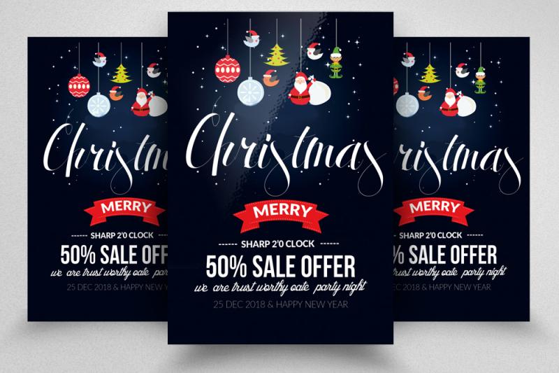 christmas-flyer-templates