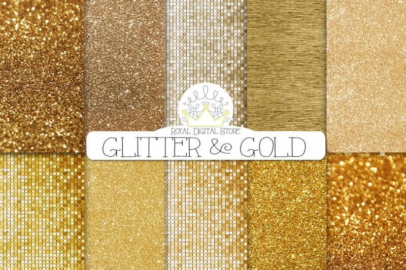 gold-glitter-digital-paper