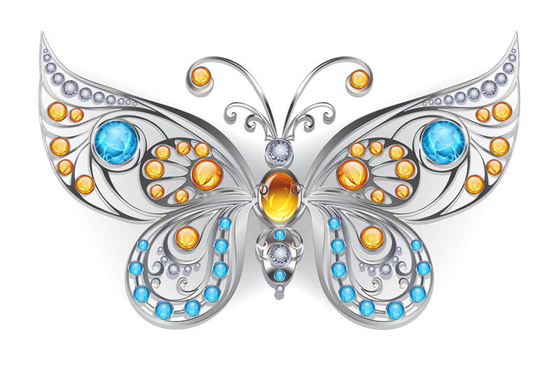 silver-butterfly-with-amber
