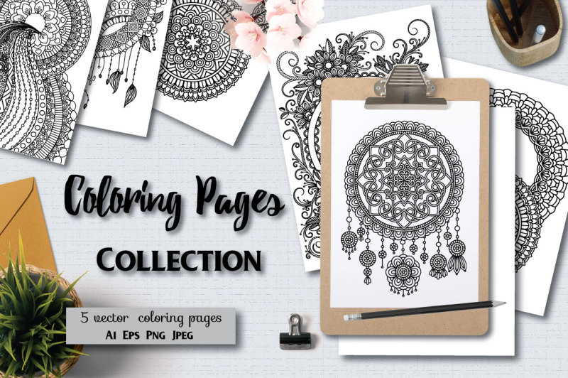5-coloring-pages