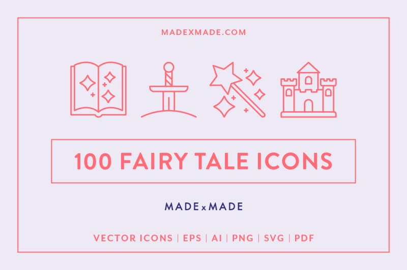 line-icons-ndash-fairy-tale