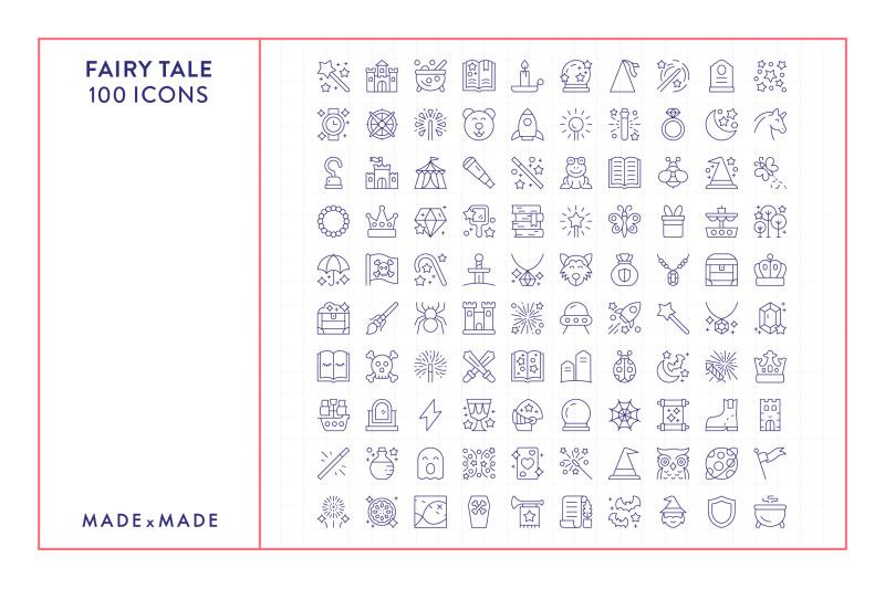 line-icons-ndash-fairy-tale