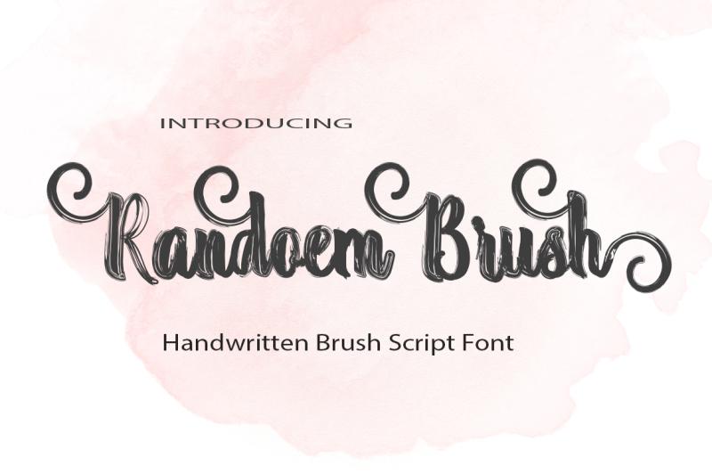 randoem-brush