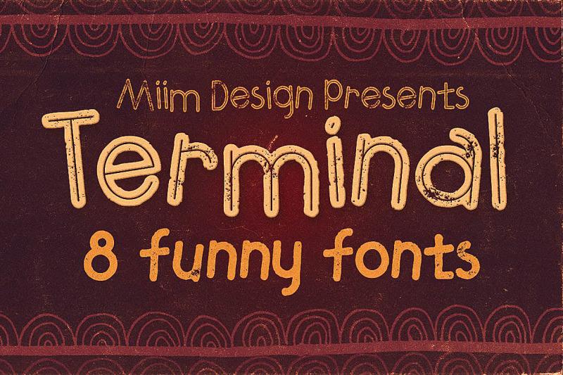 terminal-funny-font