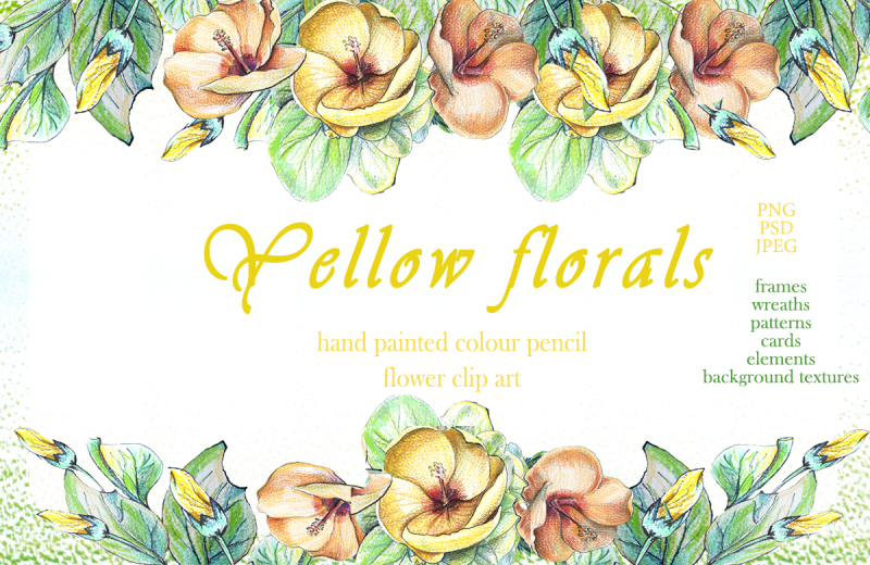 yellow-florals