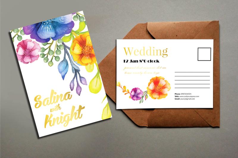 10-floral-wedding-postcard-bundle