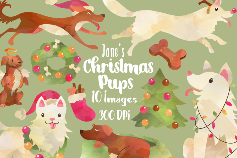 christmas-dogs-clipart