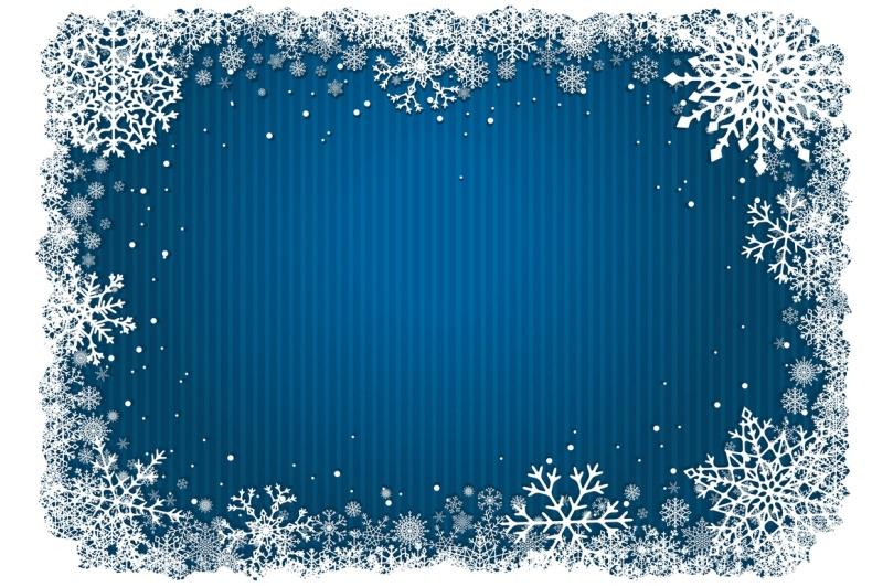 snowflakes-collection-vector