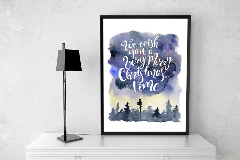 christmas-watercolor-cards-vol-1