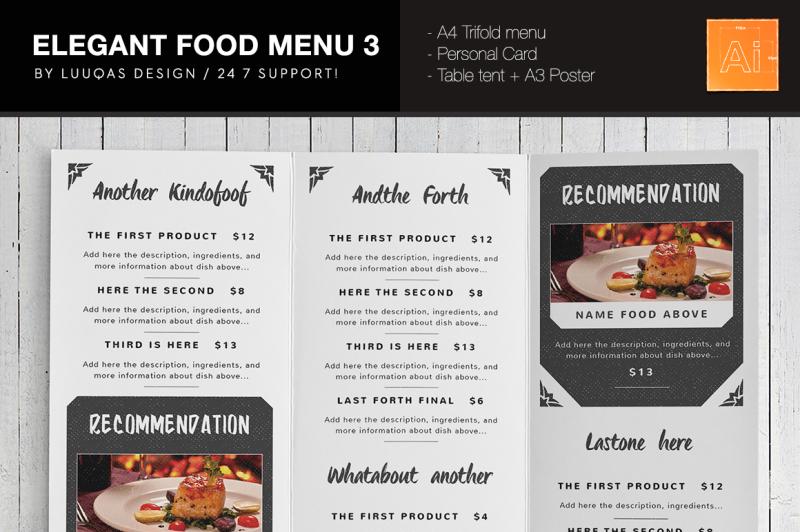 elegant-food-menu-3-illustrator