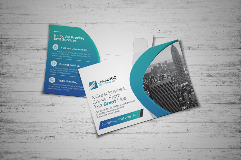 corporate-postcard-template