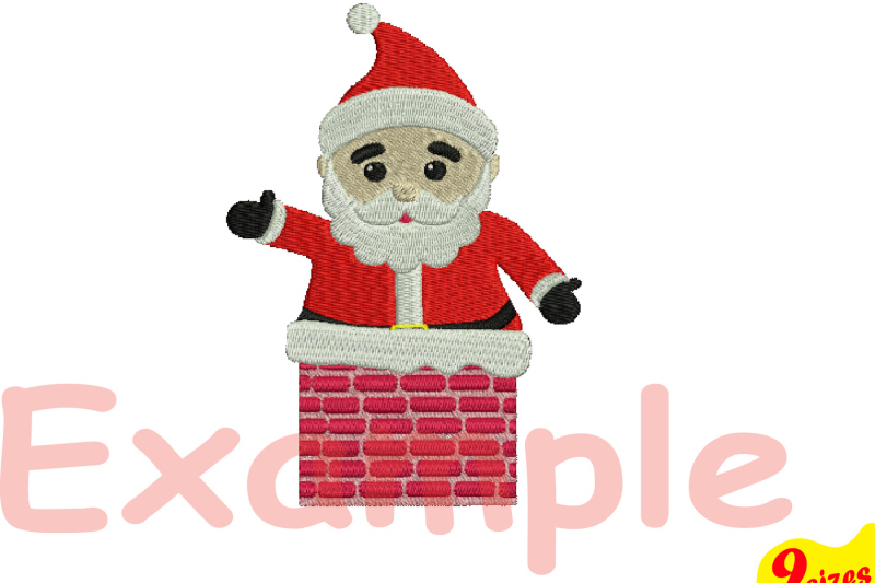 santa-claus-embroidery-design-machine-instant-download-commercial-use-digital-file-4x4-5x7-hoop-icon-symbol-sign-christmas-chimney-winter-holiday-xmas-121b