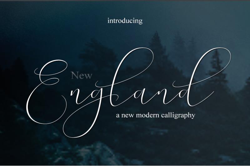 new-england-script