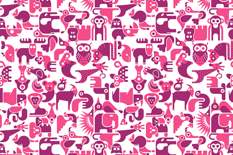 animal-seamless-vector-background