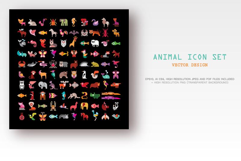 animal-icon-set