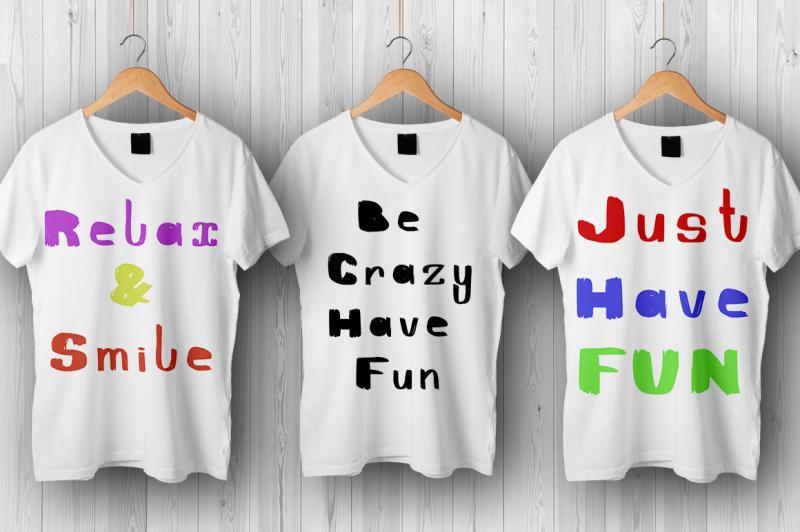 funnyfont-brush-font