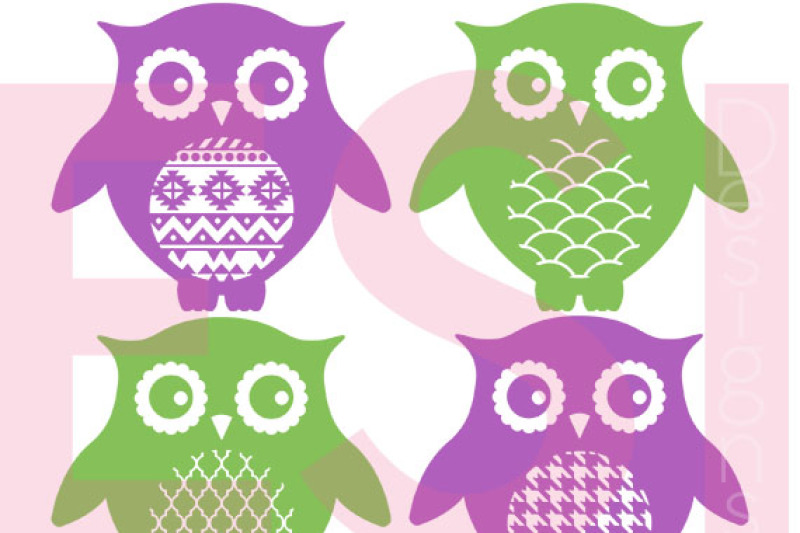 patterned-owl-designs-set-2-svg-png-dxf-eps-cutting-files
